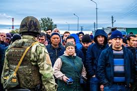 Police detained 50 people at the Khiloksky market of Novosibirsk