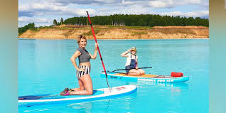 The influencers on Instagram, crazy about Lake Maldives in Siberia. Warning from a nearby company PHOTO