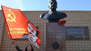 The statue of the bloodiest dictator, Joseph Stalin, inaugurated in Novosibirsk, Russia CANAL3.MD