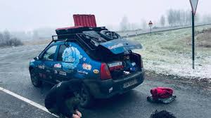 PHOTO / VIDEO. Bertici Attila and Norbert satires arrived in Siberia! What an adventure they lived