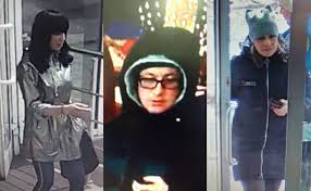 Photos of eight pickpockets published by the Novosibirsk police